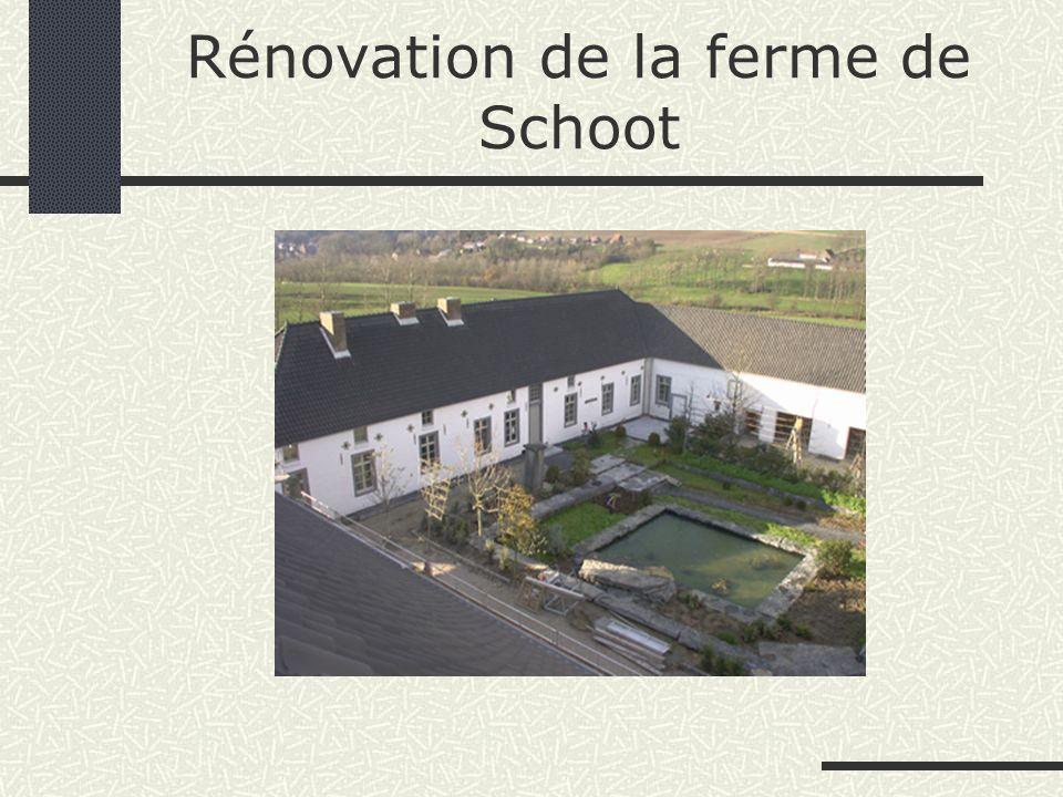 Rénovation de la ferme de Schoot