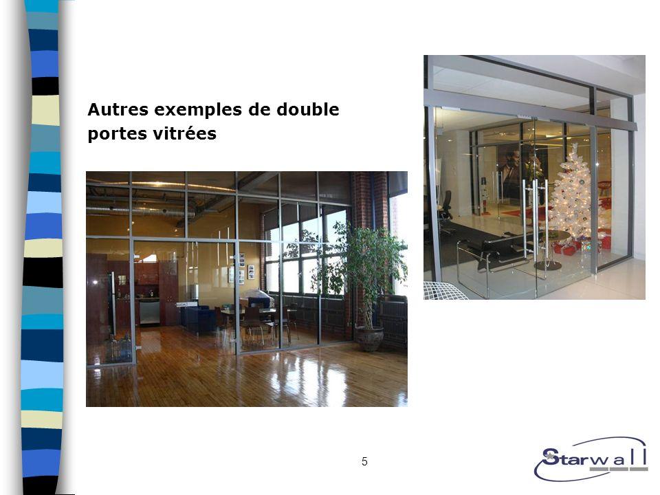 5 Autres exemples de double portes vitrées