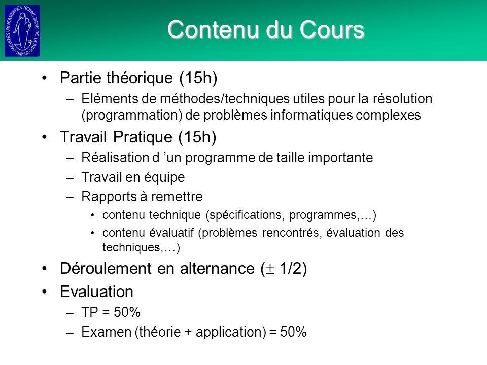 Conceptualisation du Problème: Etapes 1.Identifier et décrire les limites et le contexte du programme 2.