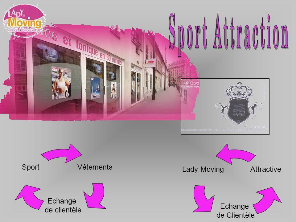 Vêtements Echange de clientèle Sport AttractiveLady Moving Echange de Clientèle