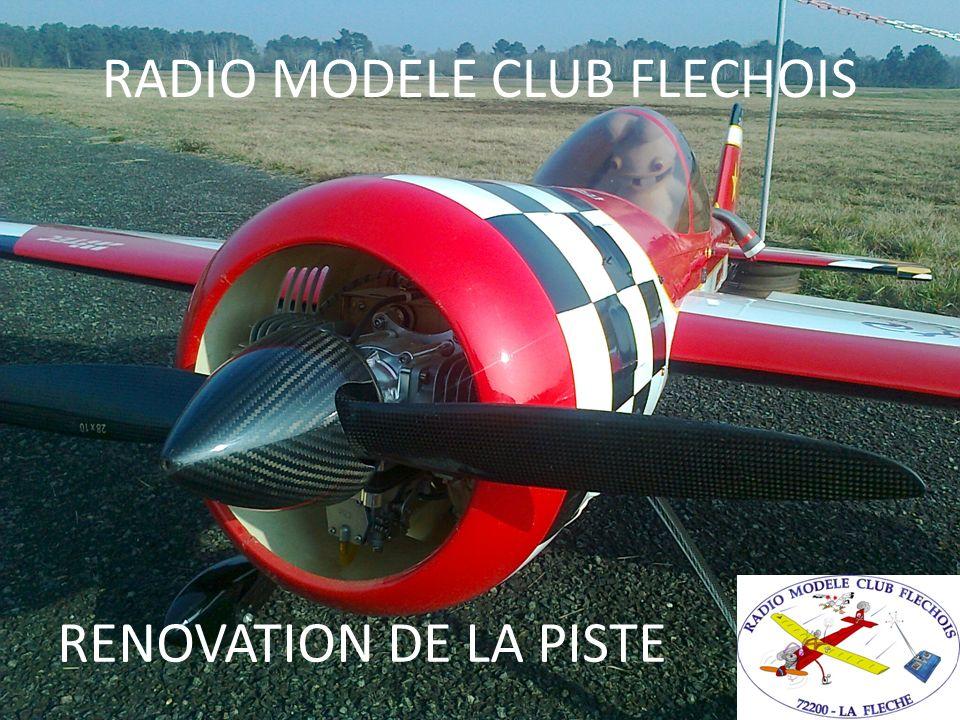 RADIO MODELE CLUB FLECHOIS RENOVATION DE LA PISTE
