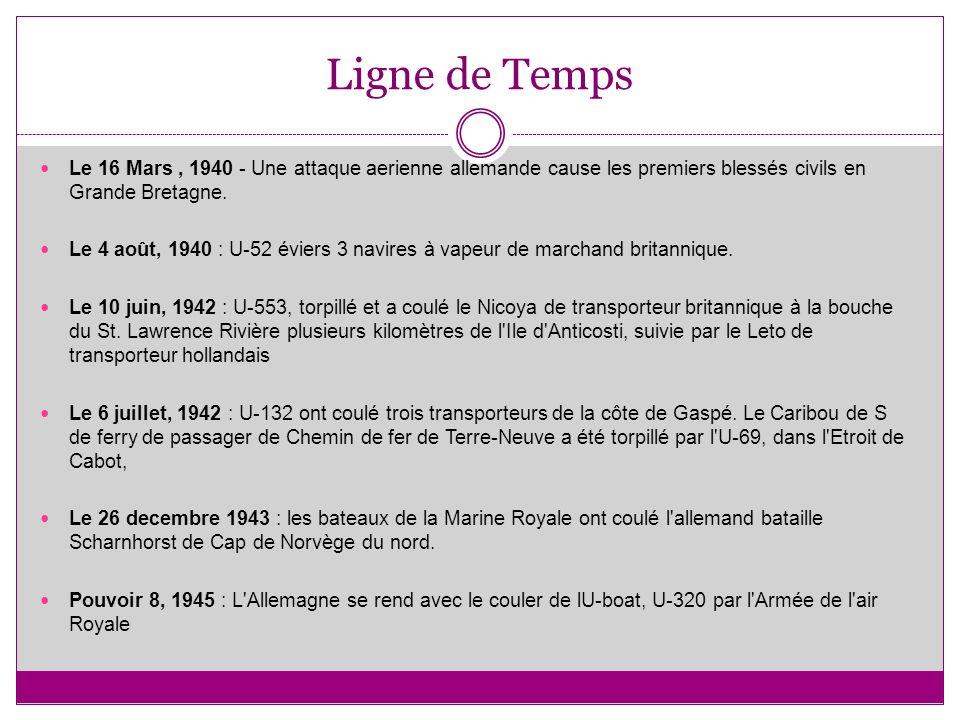 Ligne de Temps Le 16 Mars, 1940 - Une attaque aerienne allemande cause les premiers blessés civils en Grande Bretagne.