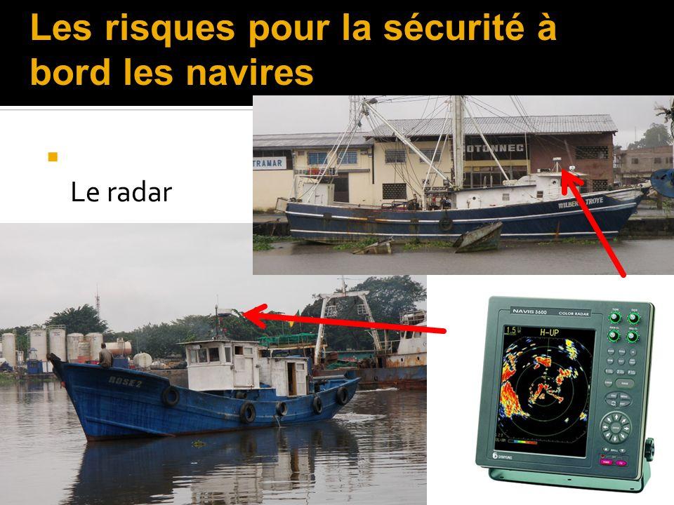 Le radar Les risques pour la sécurité à bord les navires