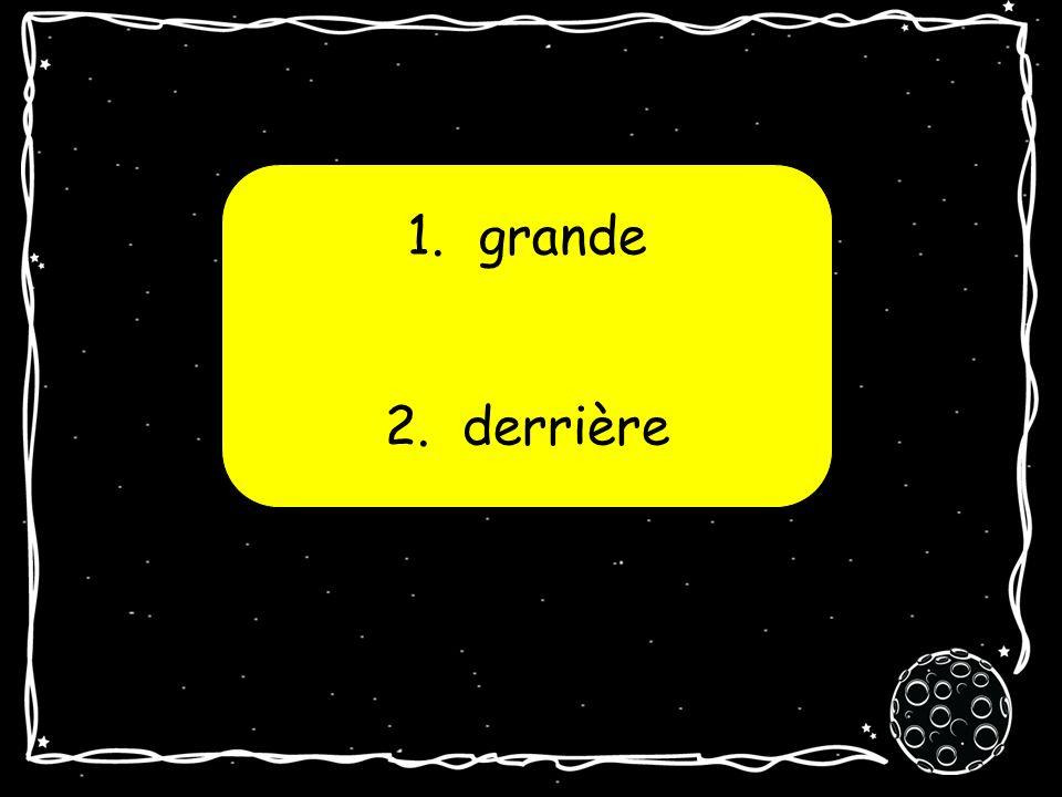1. Sancerre 2. Rochefort