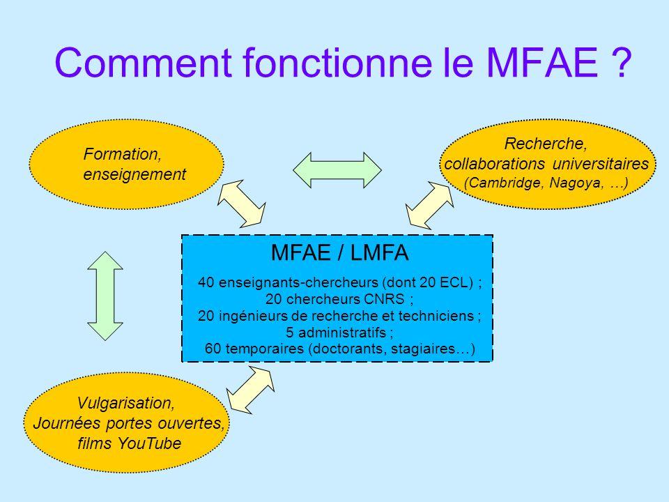 Comment fonctionne le MFAE .