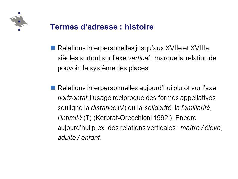 Monsieur / Madame / Mademoiselle + V / 2 + Nom de famille Aux clients : commerçants, médecins, avocats, etc.
