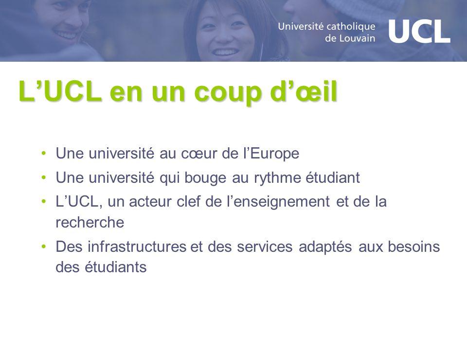 LUCL en un coup dœil Une université au cœur de lEurope Une université qui bouge au rythme étudiant LUCL, un acteur clef de lenseignement et de la rech