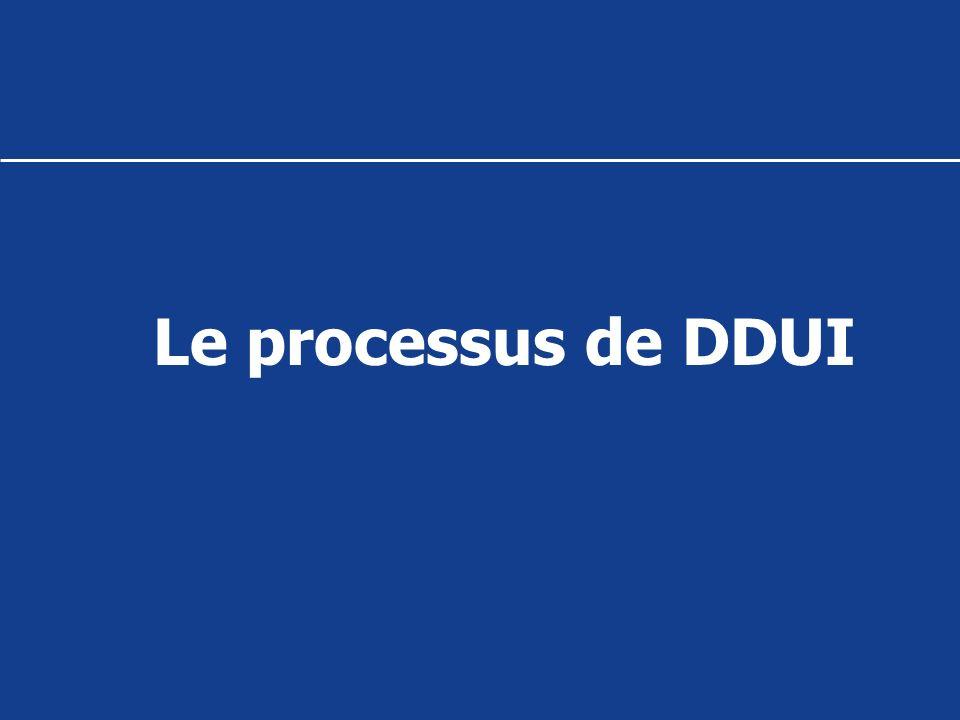 Le processus de DDUI
