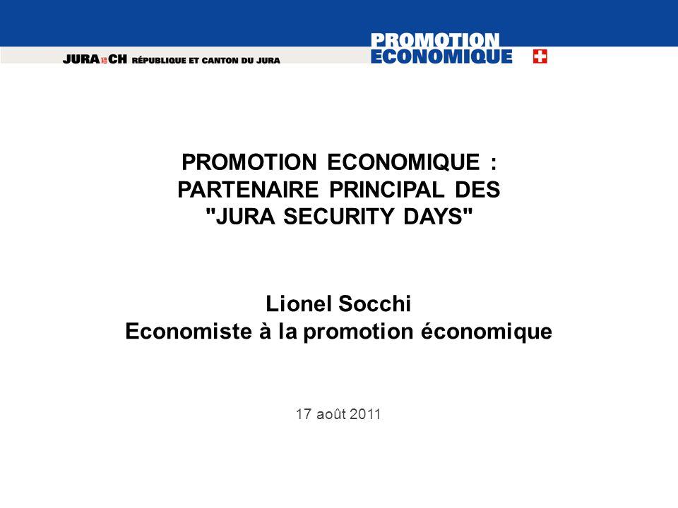 17 août 2011 PROMOTION ECONOMIQUE : PARTENAIRE PRINCIPAL DES