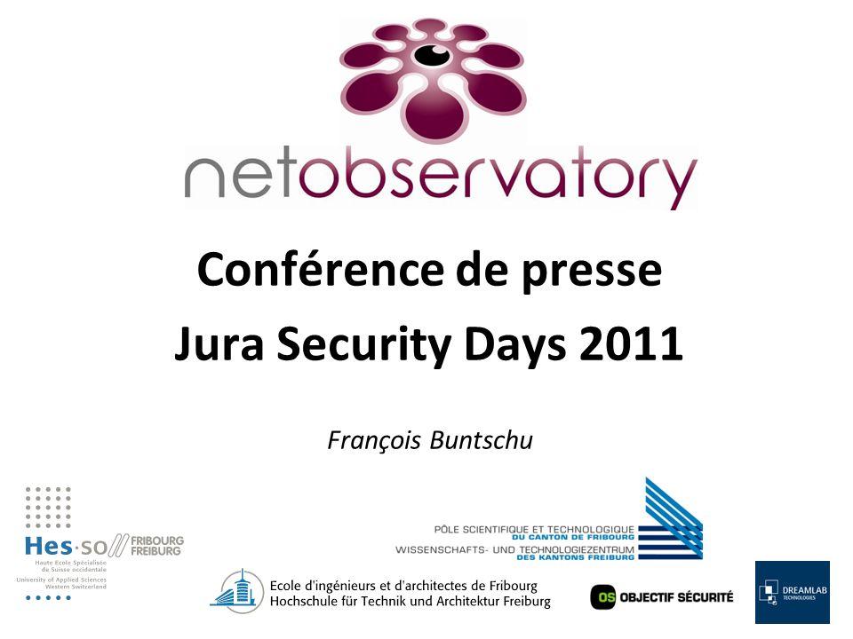 Conférence de presse Jura Security Days 2011 François Buntschu