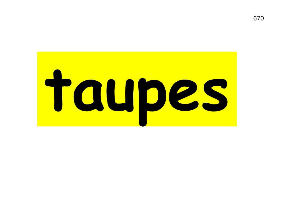 taupes 670