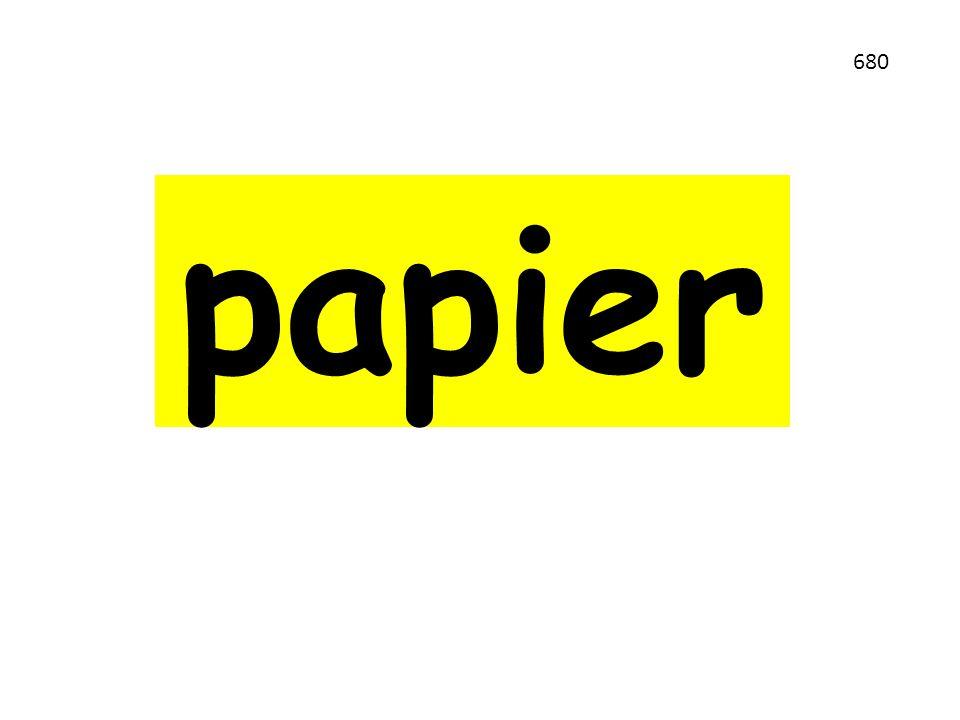 papier 680