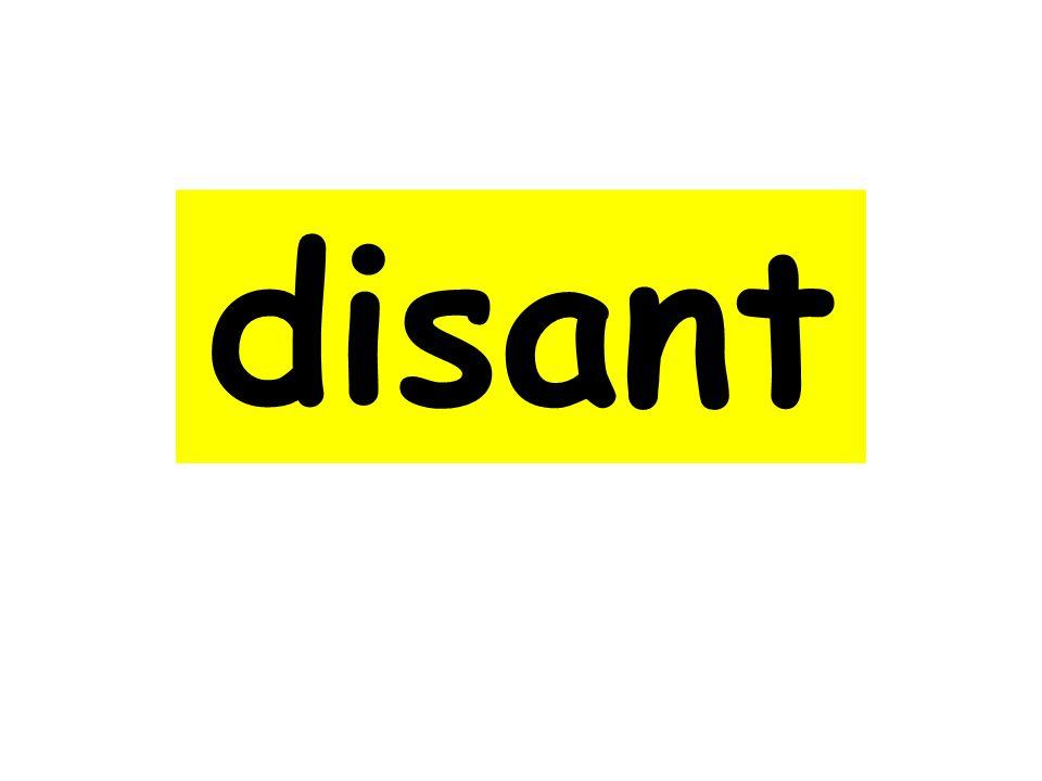 disant