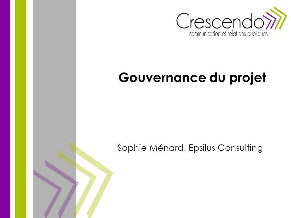 Sophie Ménard, Epsilus Consulting Gouvernance du projet