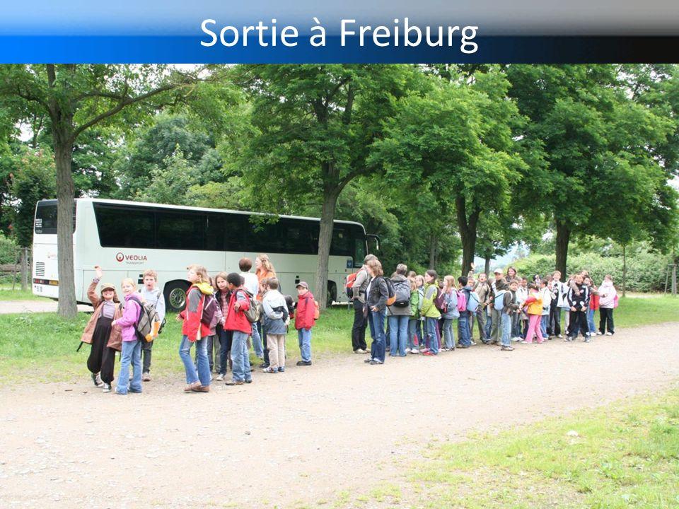 Sortie à Freiburg