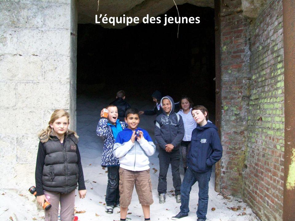Visite des souterrains du château