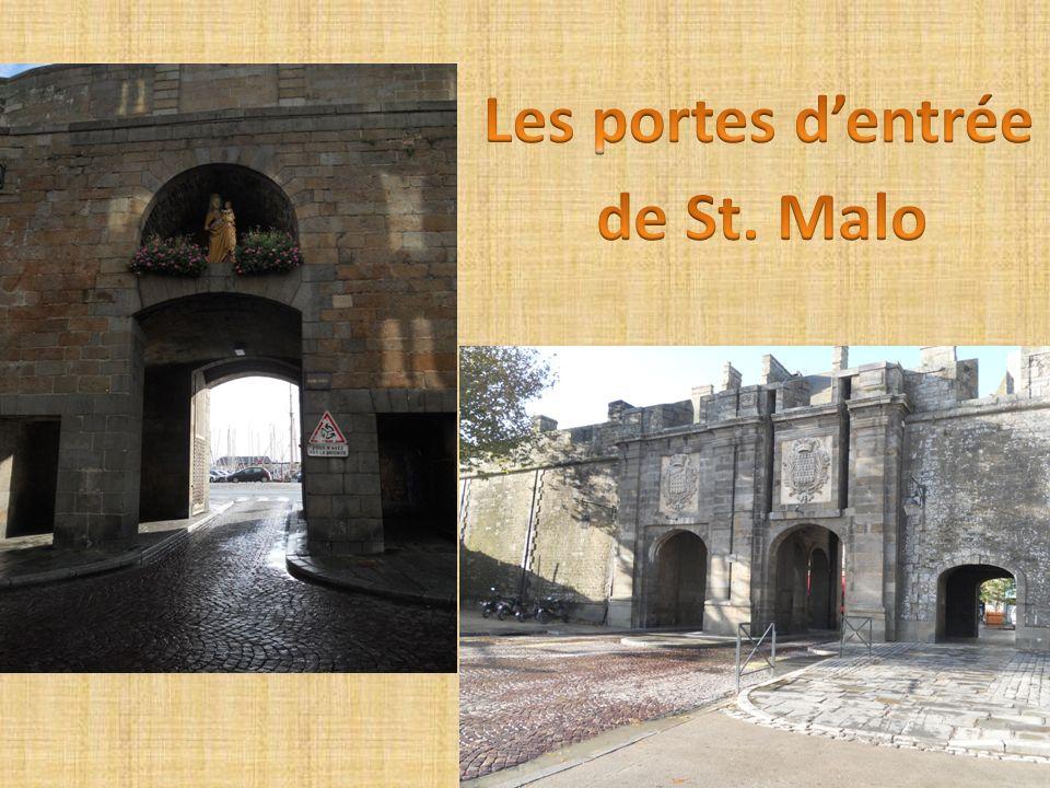 Le mémorial 39-45 construit par la ville de Saint-Malo dans le blockhaus de la défense anti-aérienne.