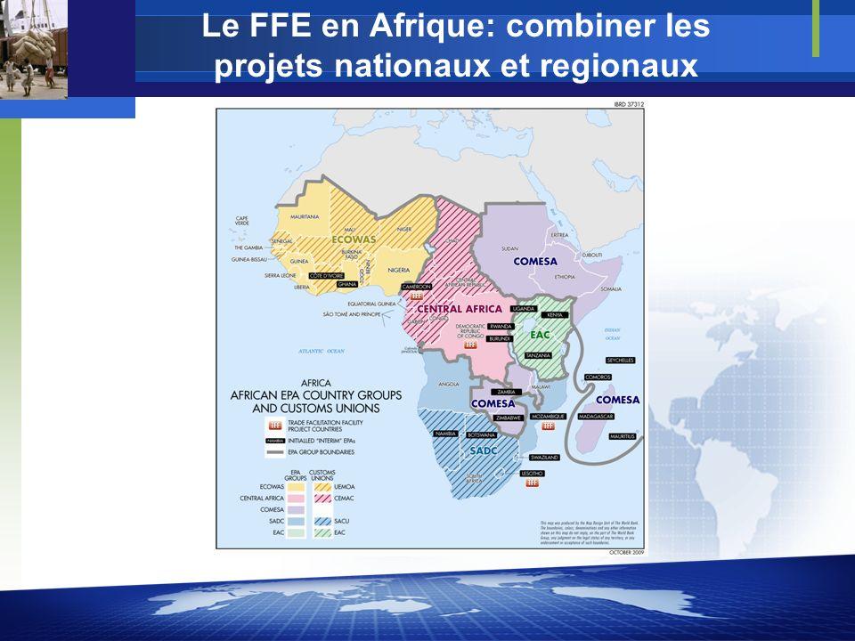 Le FFE en Afrique: combiner les projets nationaux et regionaux