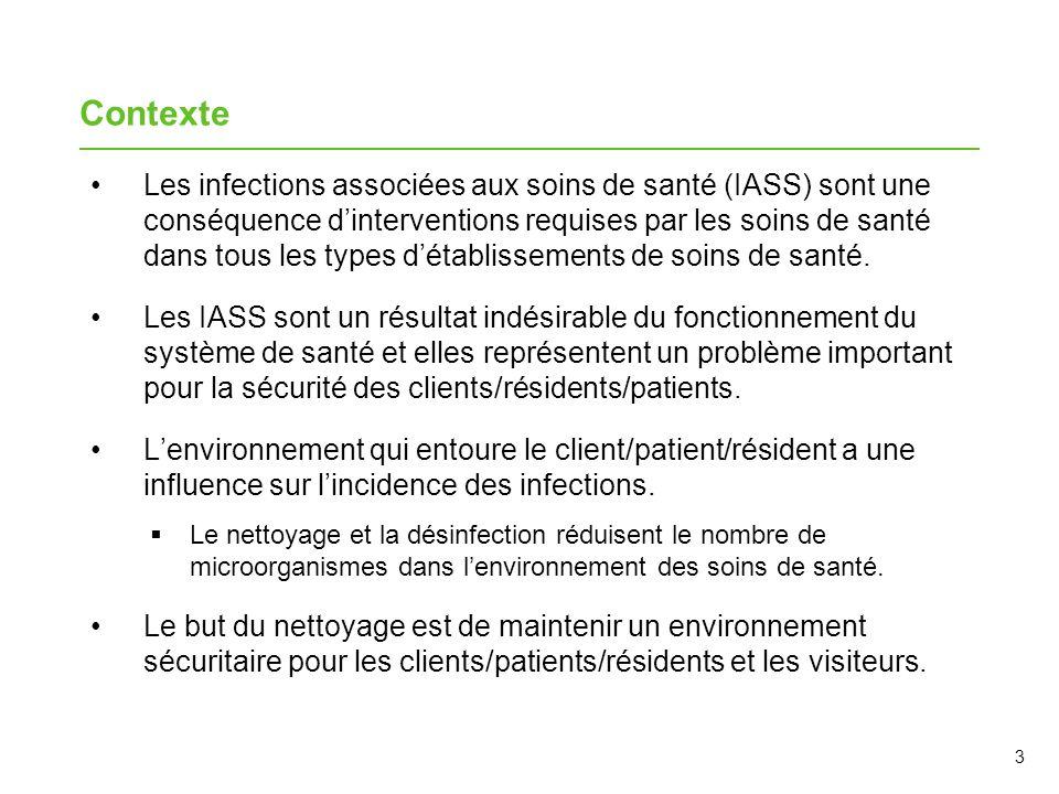 Les infections associées aux soins de santé (IASS) sont une conséquence dinterventions requises par les soins de santé dans tous les types détablissem