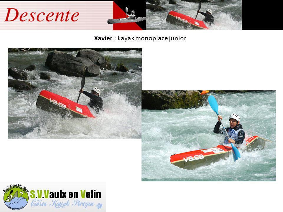 Sylvain (Viallon) : kayak monoplace senior