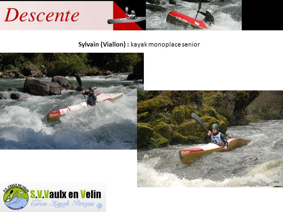 Vincent : kayak monoplace senior