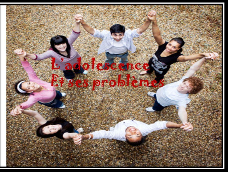Ladolescence Et ses problèmes