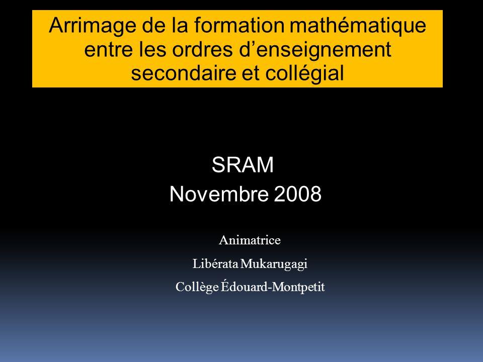 Origine du projet Projet initié par le collège Édouard-Montpetit, situé en Montérégie dans le cadre de son plan stratégique 2006-2010 Projet de partenariat entre le CEM et les CS des Patriotes et Marie-Victorin situées sur le Territoire du Collège.