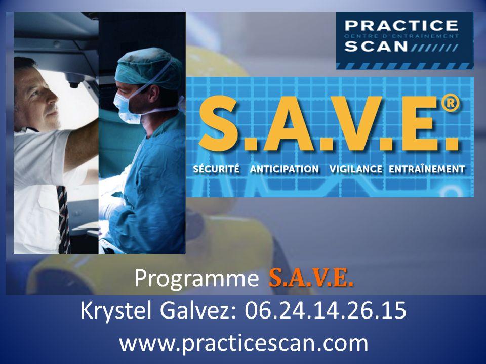 S.A.V.E. Programme S.A.V.E. Krystel Galvez: 06.24.14.26.15 www.practicescan.com