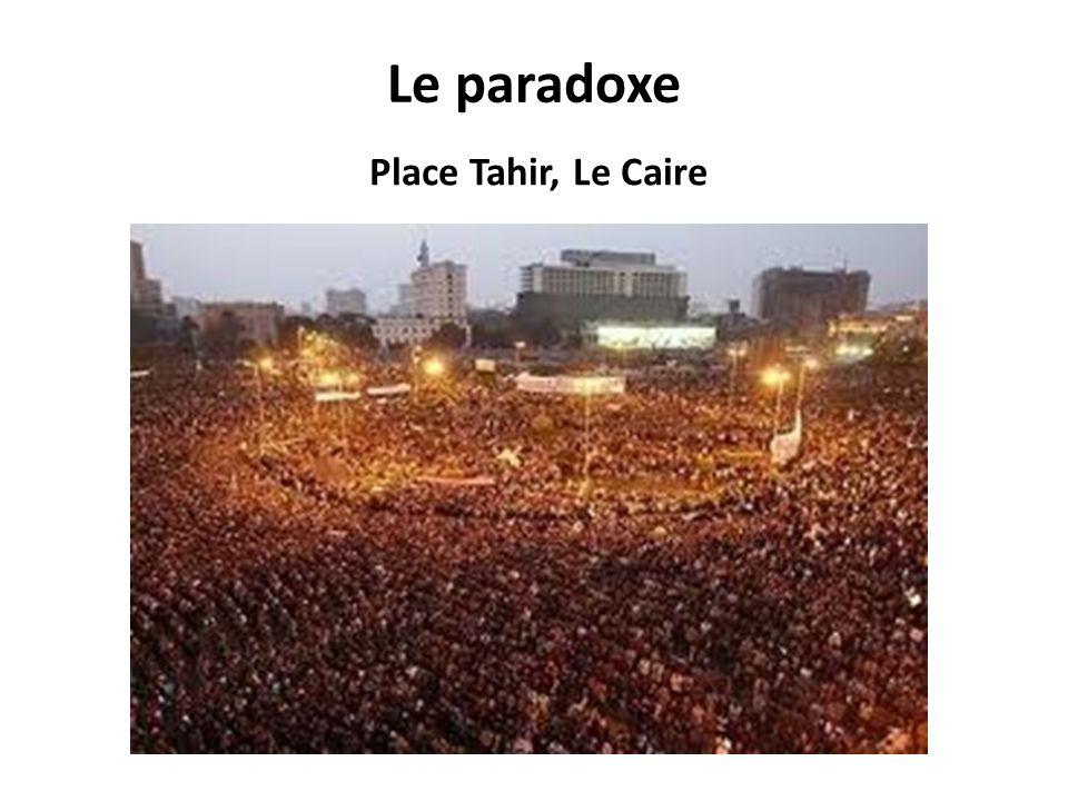 Le paradoxe Place Tahir, Le Caire