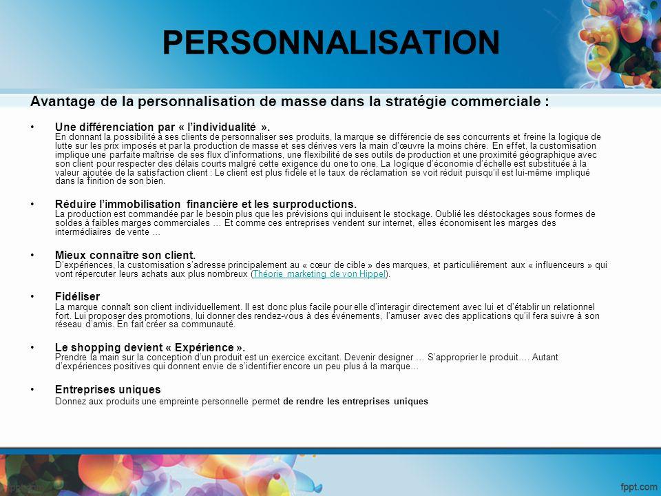 La personnalisation implicite - en ligne : La personnalisation de lenvironnement du site et de la navigation Dans ce cas présent, on ne demande pas l avis de l utilisateur.