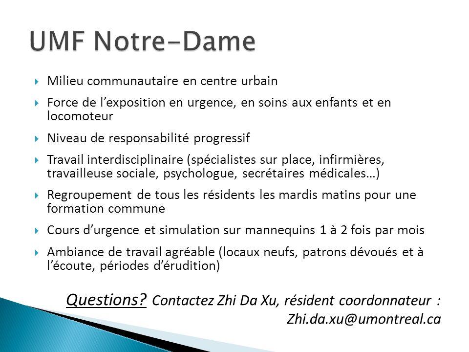UMF Mont-Laurier Bref, ce quil faut savoir!.