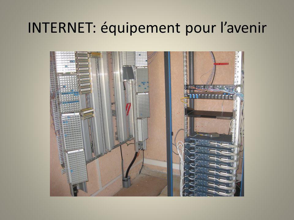 INTERNET: équipement pour lavenir