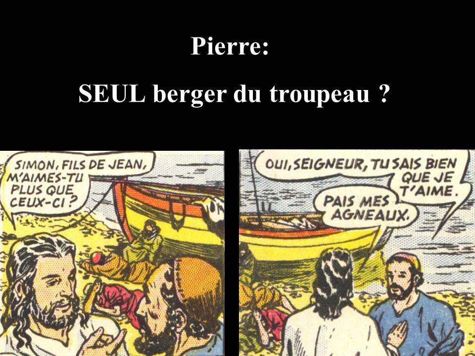 Pierre: SEUL berger du troupeau ?