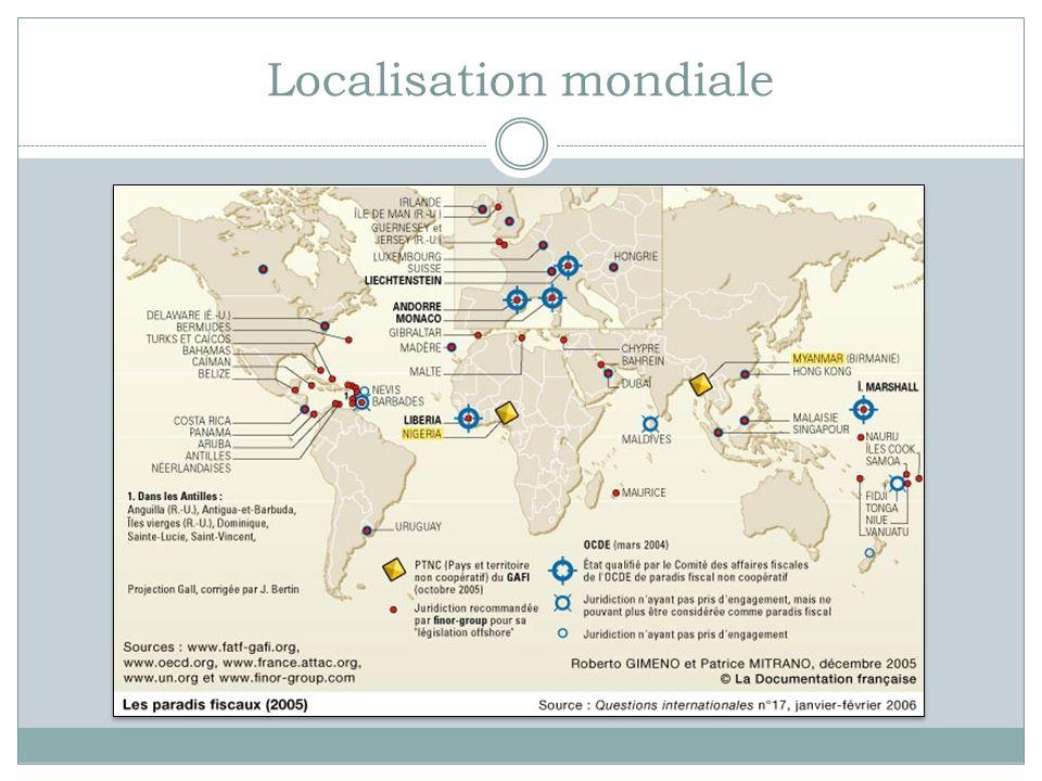 Localisation mondiale