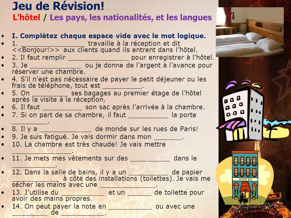 français 2 le 6-9 décembre 2013 ActivitéClasseur CHANSONS DE NOËL I. Note de Classe : Finissons ! : Verbes au Présent CActivités/Devoirs II. La civili