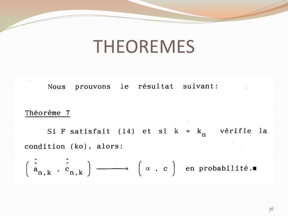THEOREMES 36
