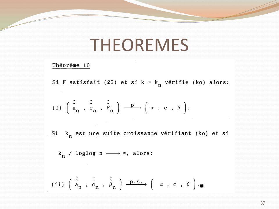 THEOREMES 37