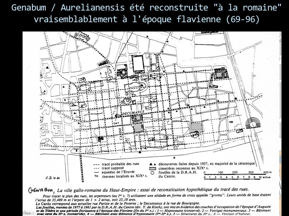 Genabum / Aurelianensis été reconstruite