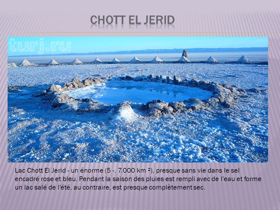 Lac Chott El Jerid - un énorme (5 -.