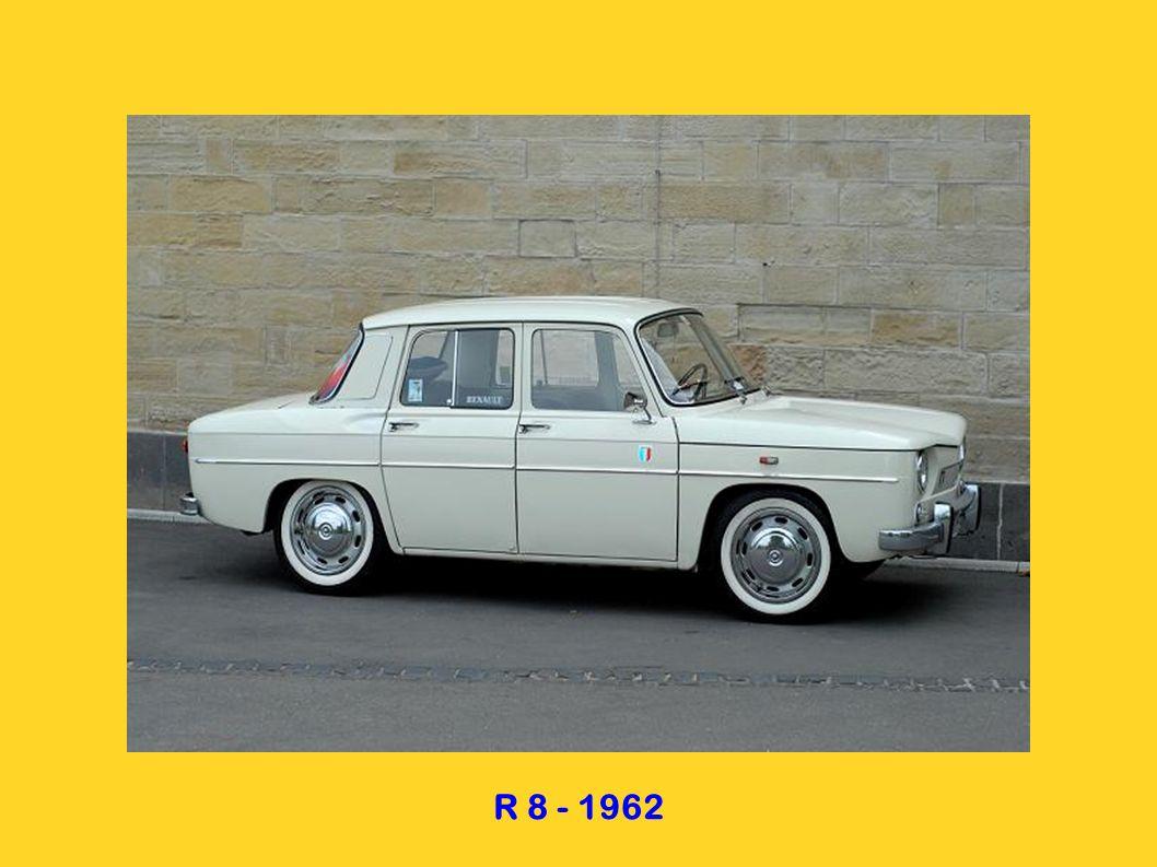 R 4 - 1961 R 4 fourgonnette vitrée 1965 R 4 fourgonnette - 1965 R 4 pickup - 1965