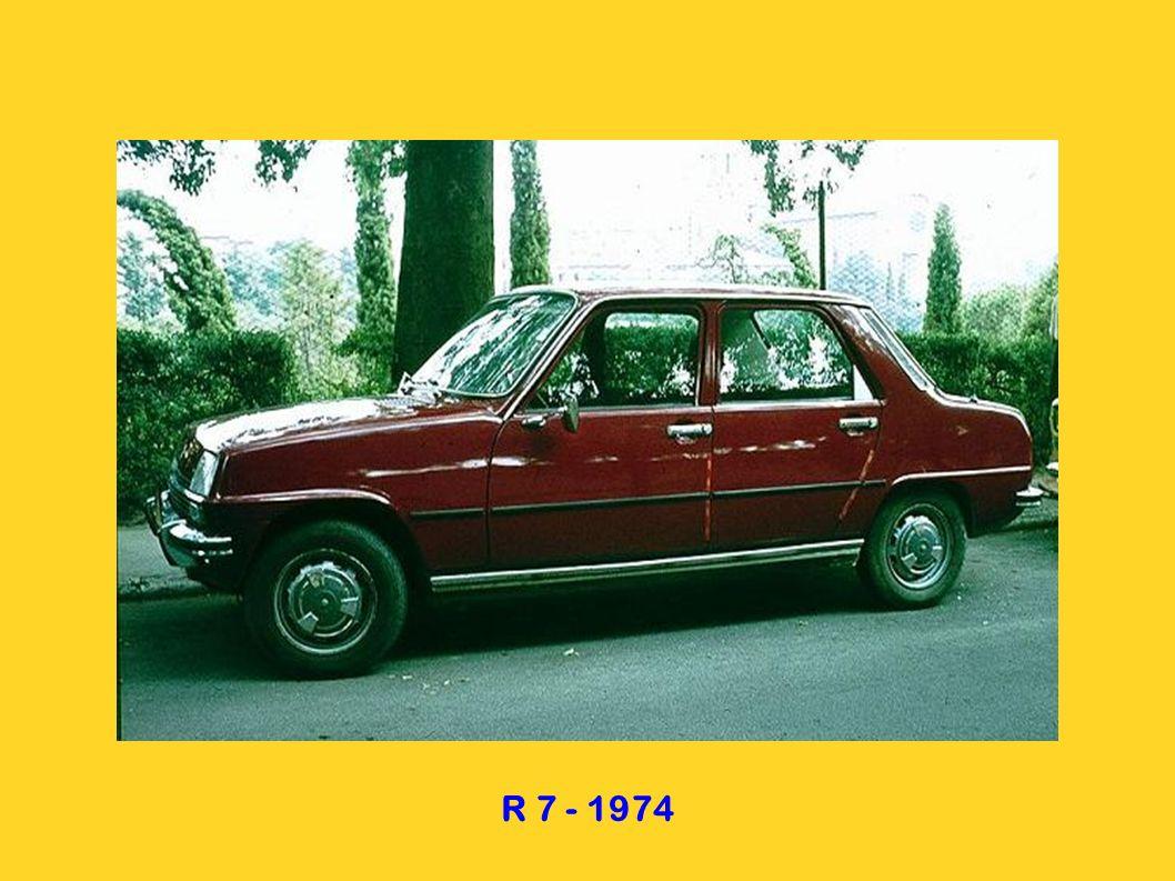 R 5 3 portes - 1972 R 5 5 portes - 1979