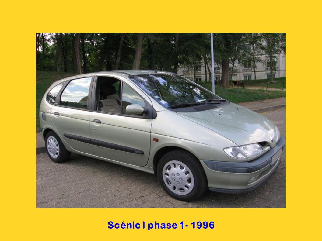 Mégane I phase 1 - 1996 5 portes 4 portes coupé cabriolet