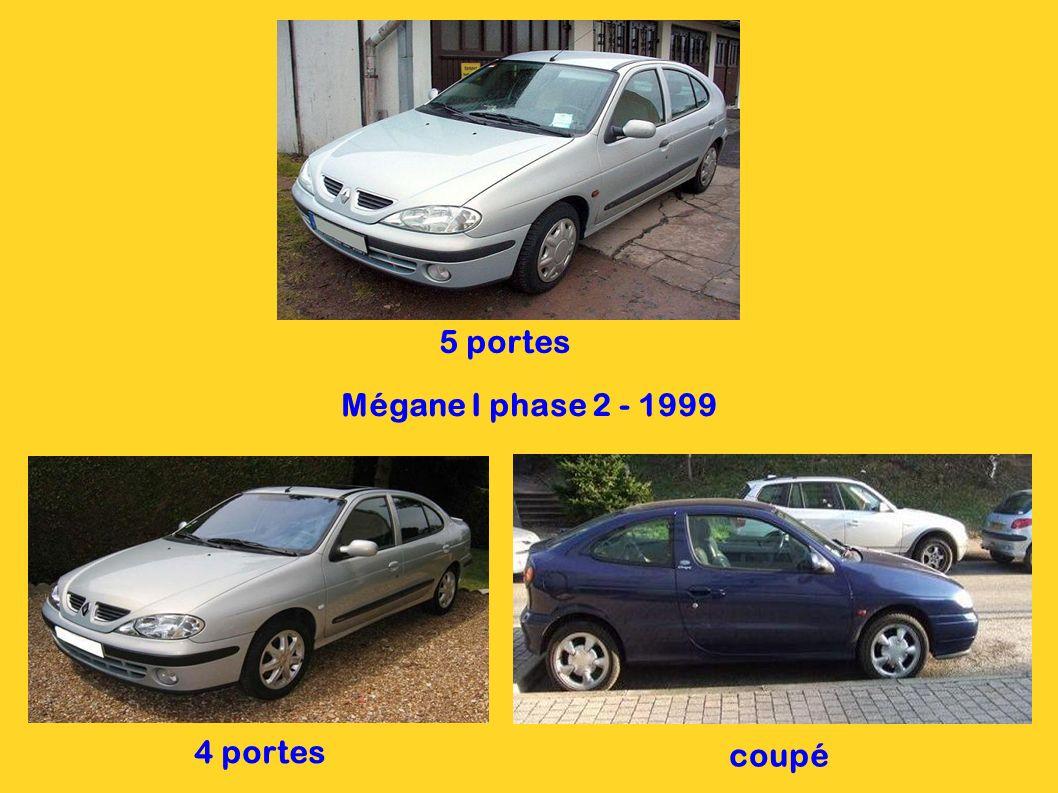 Clio II 3 portes 1998 Clio II 5 portes 1998