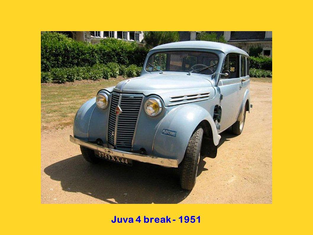 Juva 4 break - 1951