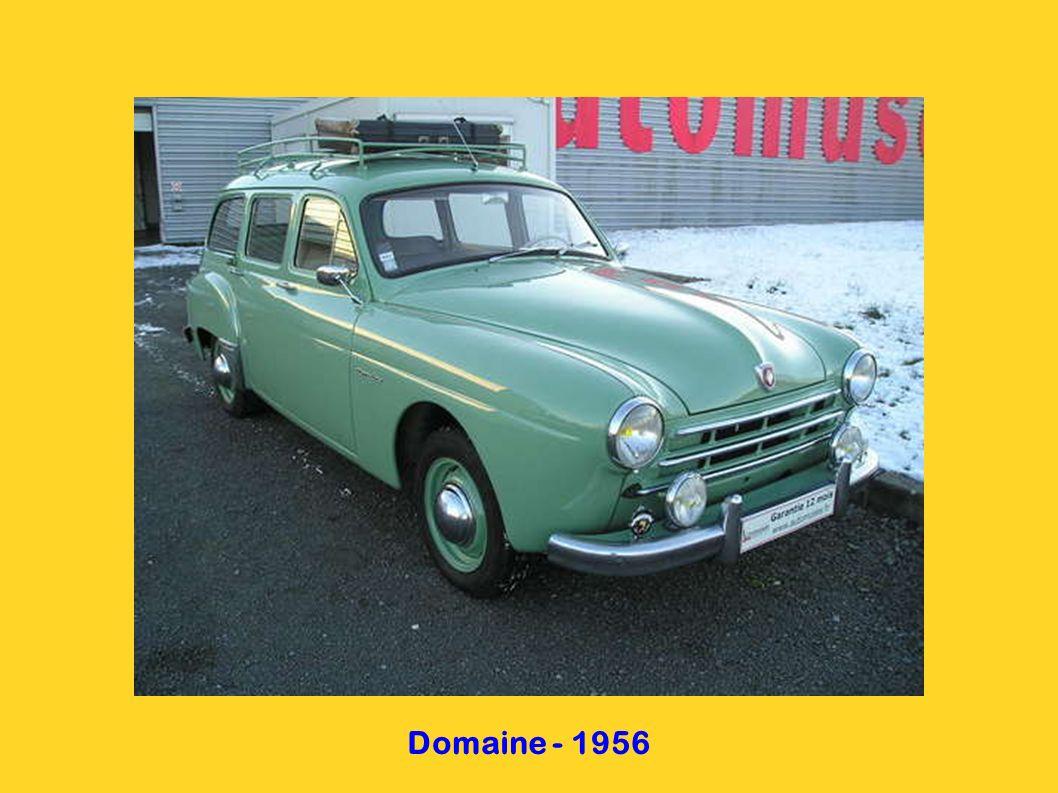 Dauphine - 1956
