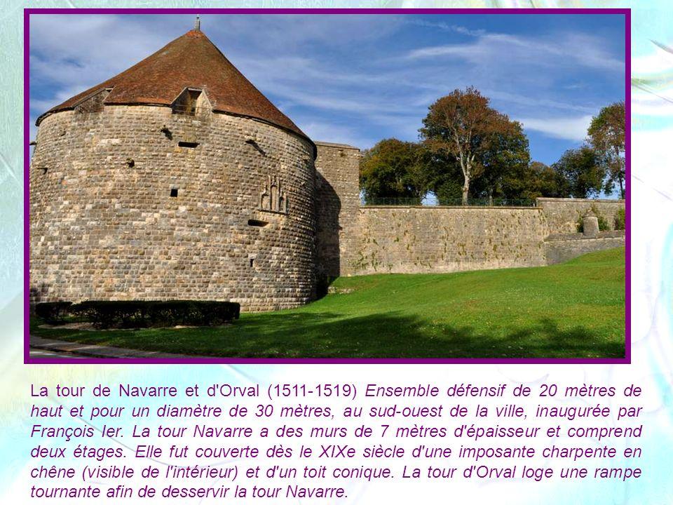 Porte Henri IV, dite des sous-murs, construite en 1604