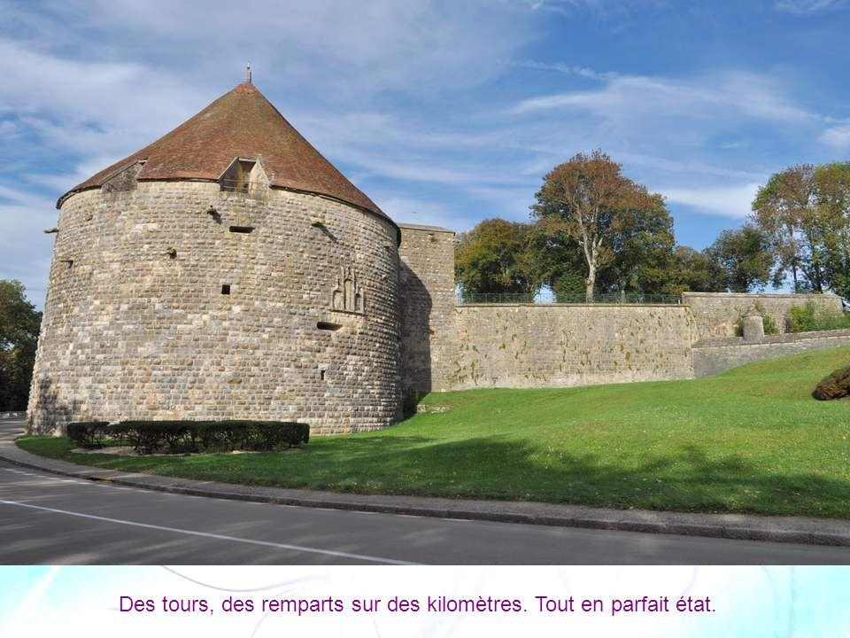 La tour de Navarre et d Orval (1511-1519) Ensemble défensif de 20 mètres de haut et pour un diamètre de 30 mètres, au sud-ouest de la ville, inaugurée par François Ier.