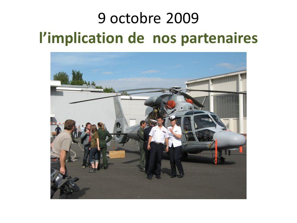 9 octobre 2009 limplication de nos partenaires