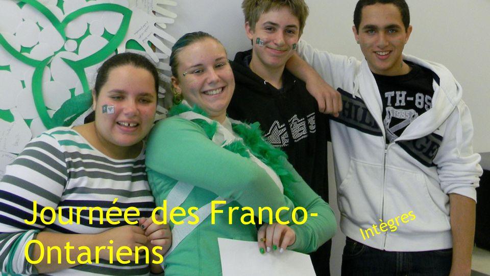 Journée des Franco- Ontariens Intègres