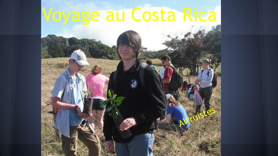 Voyage au Costa Rica Altruistes